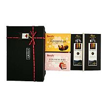 克勒司 巧克力之恋组合赠礼盒 克里奥罗72%+克里奥罗80%+桃仁夹心牛奶巧克力1盒+草莓混合巧克力1盒 [325g]