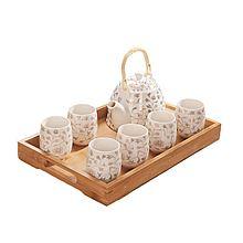 UTSUWA 景德镇陶瓷茶壶茶杯家用套装 [水壶+水杯]