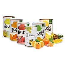 6小时鲜制水果罐头 家庭装 [什锦 [425g *8罐]*1箱]