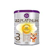 a2 Platinum3段 铂白金婴幼儿配方奶粉3段 900g(澳洲本土版)(二库)