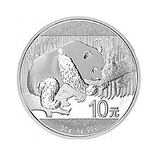 民商智惠 2016熊猫银币 纪念币 [ Ag.999,30g]