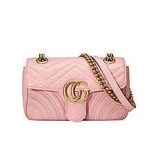 Gucci GG Marmont绗缝迷你手袋446744DRW3T5909 446744DRW3T5909[均码]
