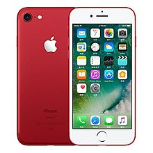 苹果 Apple iPhone7 (A1660) 128G 移动联通电信4G手机 赠壳+膜+移动电源 [红色]