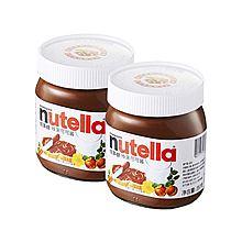 民商智惠 Nutella 能多益 榛果可可酱 2瓶组合 700克[10010070] [350克/瓶]