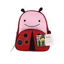 Skip hop 可爱动物园儿童卡通幼儿园背包 小学书包双肩包 儿童背包 [甲虫]