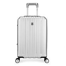 DELSEY 法国大使0020738拉杆箱亮色流线型男女出游旅行箱 0020738[银色 20寸]