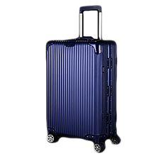 民商智惠 F N BIRD/菲恩堡 全铝镁合金拉杆箱万向轮金属商务行李箱铝合金旅行箱F1108-星空蓝 [28寸]
