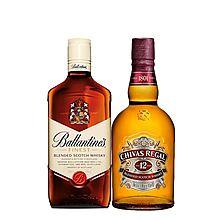 民商智惠 芝华士12年威士忌500ml+百龄坛500ml组合套装 [500ml*2]