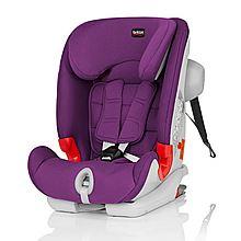 民商智惠 britax宝得适百变骑士isofix9个月-12岁汽车儿童安全座椅3C认证 [闪耀紫 ]