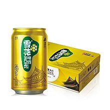 民商智惠 雪花啤酒 8度纯生(330ml*24听) [箱]