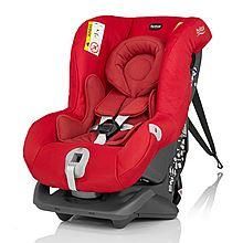 民商智惠 britax宝得适头等舱白金版0-4岁双向婴儿汽车用儿童安全座椅3C认证 [热情红 ]