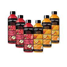 沛时 海底六万米黑标系列芒果、草莓复合生果汁混合套装HPP+ NFC冷压鲜榨 [350ml*6瓶]