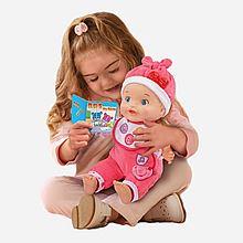伟易达 Vtech littlelove智能对话娃娃玩具女孩女童会说话仿真儿童洋娃娃宝宝音乐早教 [80-153918]