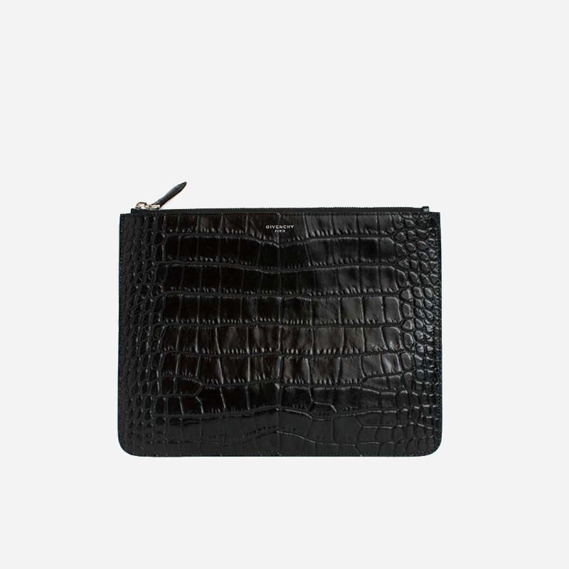 Givenchy 纪梵希 鳄鱼纹手包BK06072396 BK06072396[黑色 均码]