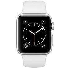 Apple Watch Sport Series 2智能手表 [银色铝金属表壳搭配白色运动型表带 42mm]