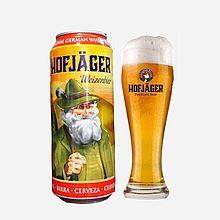 豪夫猎人 德国原装进口 白啤酒【24听/箱】* 4260423410886[500ml]