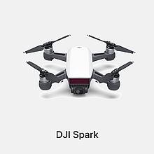 民商智惠 大疆 DJI 晓 SPARK掌上智能无人机 高清航拍 自拍神器 单机 [白色]