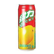 台湾 绿力 芒果汁饮料 490ml