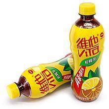 维他 瓶装柠檬茶 500ml