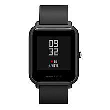 Amazfit 华米米动手表青春版 智能手环 运动手表 心率/睡眠/GPS/蓝牙/通知 [曜石黑]