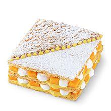 民商智惠 INCAKE印克时光 芒果拿破仑 生日蛋糕 [1.5磅 ]