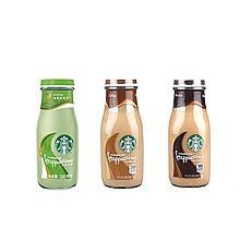Starbucks 星巴克 星冰乐原味摩卡抹茶味三瓶咖啡饮料 [281ML*3]