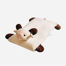 Laytex 泰国天然乳胶婴幼儿童卡通枕头玩具枕0-1-3-6岁 两色可选 [乐羊羊]