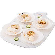 民商智惠 獐子岛 大连特产 海鲜贝类 蒜蓉粉丝贝24只 [200g/袋*4]