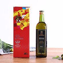马赛罗 西班牙进口马赛罗橄榄油750ml 礼盒装 冷压初榨食用橄榄油食用油 单瓶礼品礼盒 [750ml礼盒装]