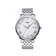 天梭 (TISSOT)手表 俊雅系列石英男士手表T063.610.11.038.00 [白盘 42mm]