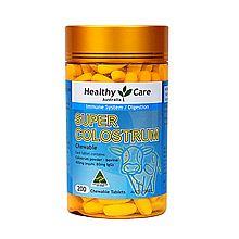 Healthy Care 澳洲进口 100%纯牛初乳咀嚼片200片(澳洲版)高钙全家共享 [200片]