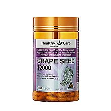 Healthy Care 澳洲进口 葡萄籽美白丸花青素精华胶囊(澳洲版) [300粒]