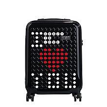 DOT-DROPS 法国拉杆箱男女静音万向轮登机箱20寸24寸28寸旅行行李箱 CH2系列 Chapter 2[黑色 20寸]