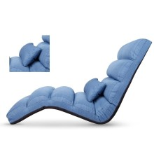 怡禾康 多功能折叠按摩垫家用懒人沙发按摩椅垫YH-AM02 [蓝色]