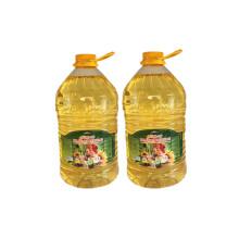阿尔辰晞 【限时抢】实惠装 2桶组合装 俄罗斯原瓶进口 非转基因 冷压榨葵花籽油 食用油 植物油 烹调油 [5L*2]