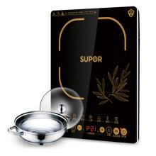 SUPOR 苏泊尔 炫薄电磁炉带汤锅 SDHCB11T-210[黑色]