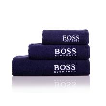 HUGO BOOS PLAN毛浴巾三件套MYJ-003-5 [蓝色]