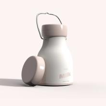 iDeaman 正品牛奶瓶加湿器 创新旋钮式 USB喷雾车载加湿器 肌肤补水一整天 [粉色]