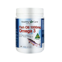 Healthy Care 澳洲进口 无腥深海鱼油软胶囊(澳洲新版)含欧米伽3 EPA [400粒]