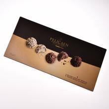 佩里肯 比利时进口巧克力松露形代可可脂巧克力 3盒装 [105g 12粒]