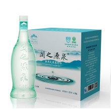 润之源泉 6瓶/箱天然苏打水 饮用水 无气弱碱性 泡茶伴侣 [1250ml]