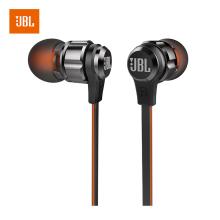 JBL T180A 立体声入耳式耳机 耳麦+运动耳机 带麦可通话 游戏耳机 [黑色]