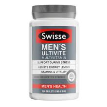 Swisse 澳洲进口 男士复合维生素片(澳洲新版)强健体魄 含多种维生素矿物质 [男士复合120粒]