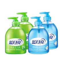 蓝月亮 洗手液组合:芦荟洗手液500g×2+野菊花洗手液500g×2 [蓝色+绿色]