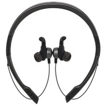 JBL UA Flex 安德玛户外无线蓝牙运动耳机 可调节颈挂式无线蓝牙音乐耳机耳麦 黑色灰色 [灰色]