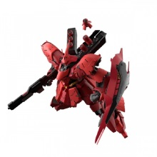万代 拼装模型玩具 RG29 1/144 MSN-04 Sazabi 沙扎比 夏亚高达 日本万代原装正品 4549660303633[红色]