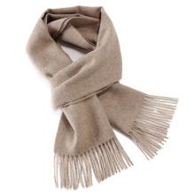 SOL ALPACA 秘鲁小羊驼毛经典款纯色围巾 1004-01[浅驼色]