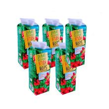 金色果园 俄罗斯进口 野生浆果汁 蔓越莓 5瓶装 [1L 5只]
