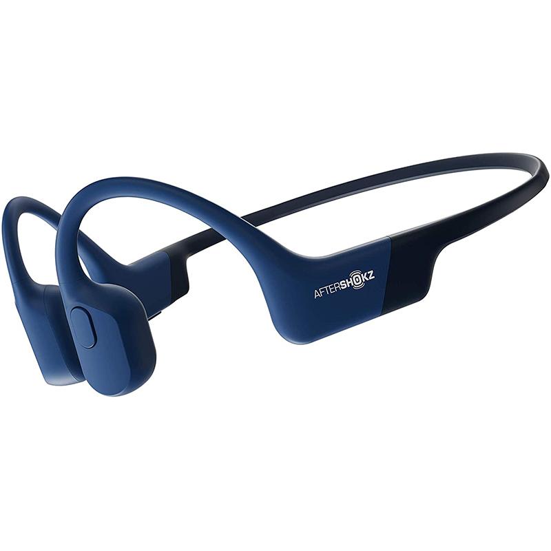 韶音 AFTERSHOKZ AIR骨传导耳机运动蓝牙耳机无线耳骨传导耳机骑行跑步 [AS800日蚀蓝]