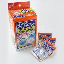 小林制药 日本进口镜头清洁 眼镜布 镜片清洁 擦镜纸 清洁湿巾40片装 [1盒]